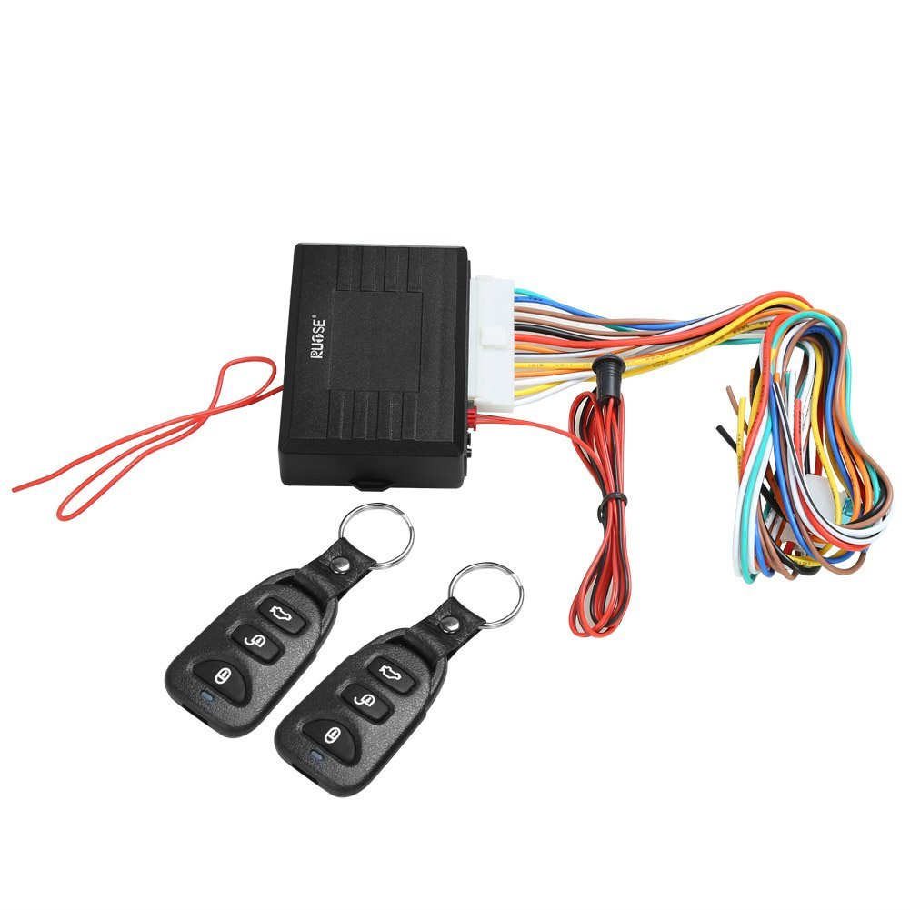 Rupse Universal Car Alarm Remote Control System Central Door Lock Locking Keyless  Entry System