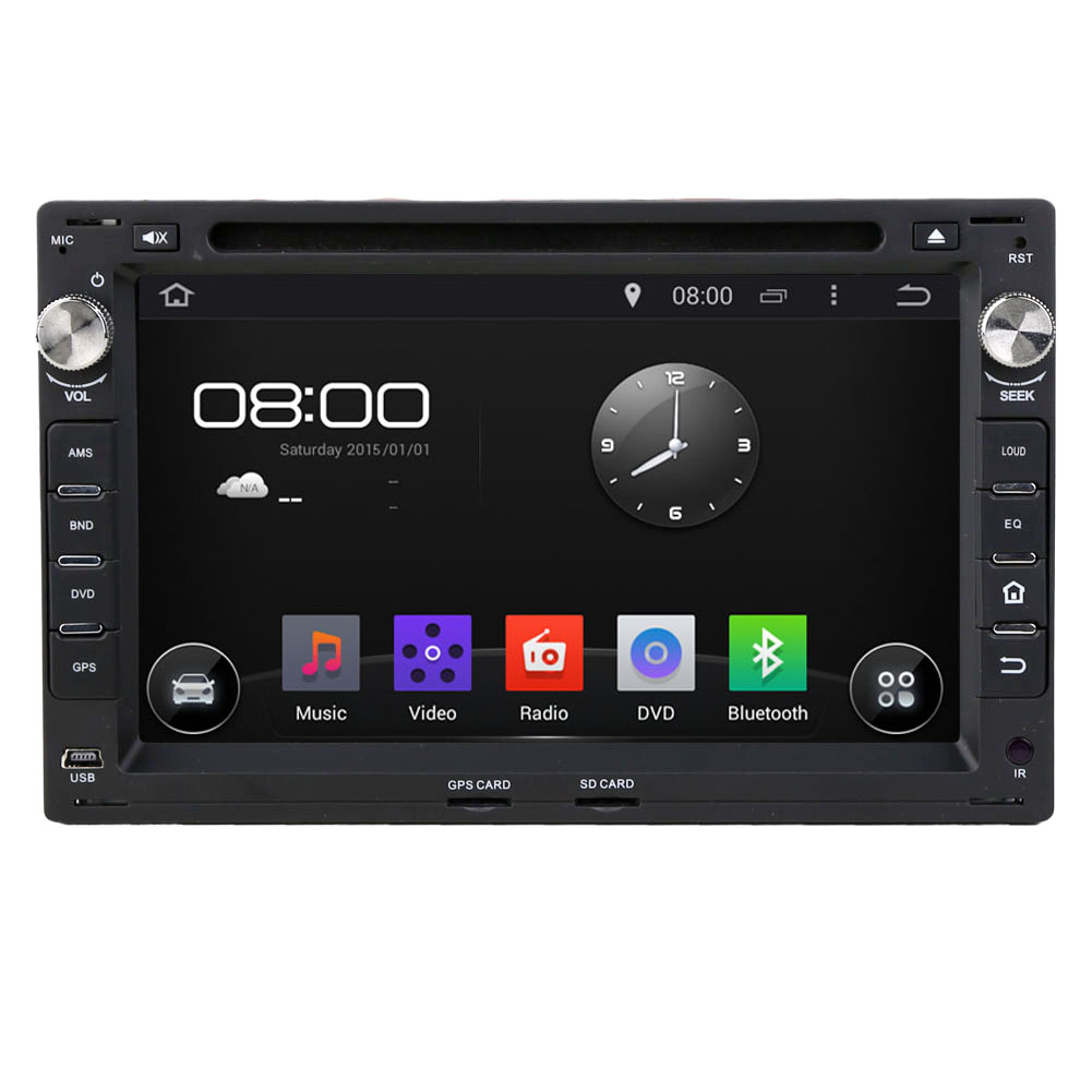 Rupse 7 inch Android4.4 DVD Navigation System With Capacitive Screen For VW Passat B5 Golf4 Jetta Bora